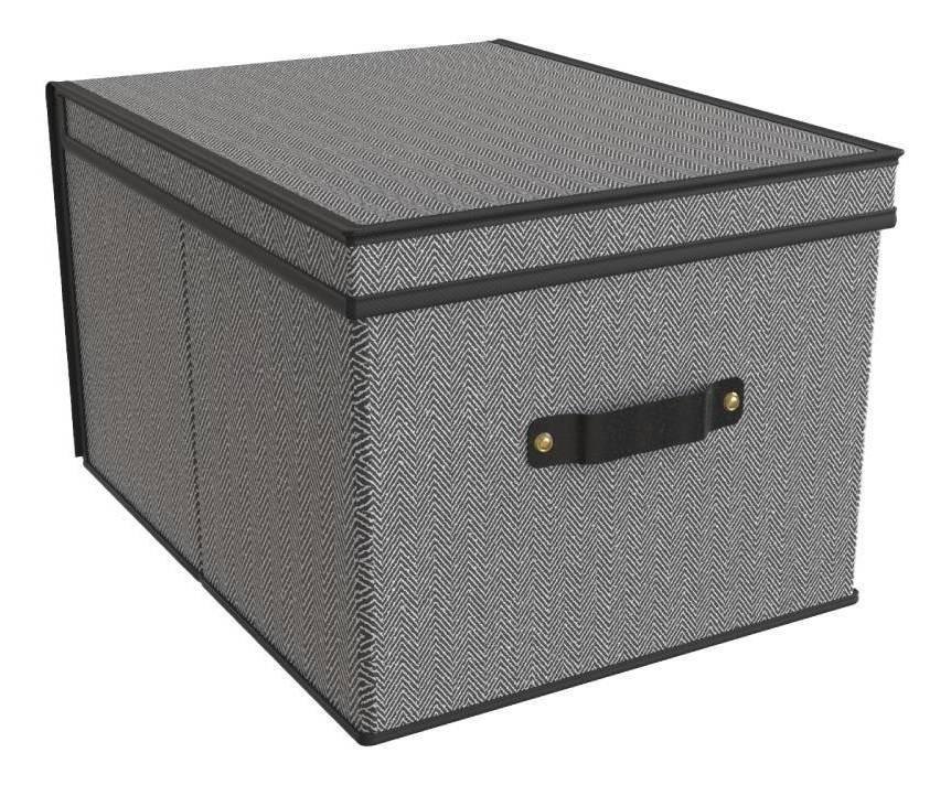 Set De 2 Cajas Cesto Bote Organizador De Casa Lavanderia Para Ropa Sucia Plegable Tokyo Or-443971 Namaro Design