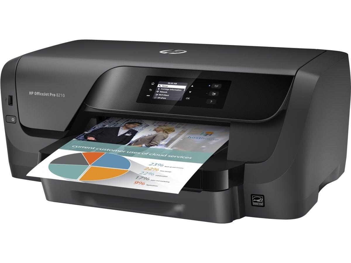Impresora Hp 8210 Inyeccion de tinta