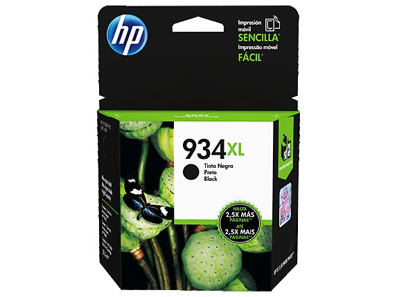 HP 934XL High Yield Black Original In