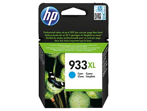Cartucho de Tinta Cyan para Officejet HP 933XL