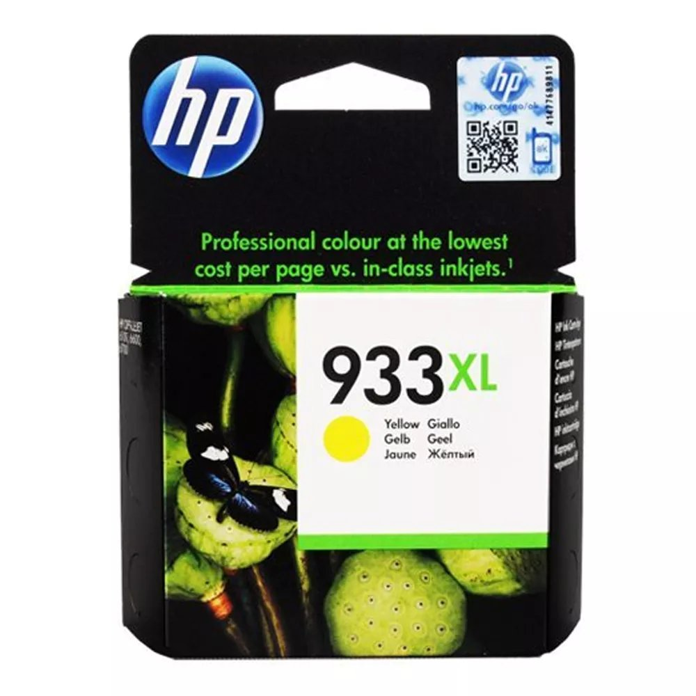Cartucho de Tinta Amarilla para Officejet HP 933XL