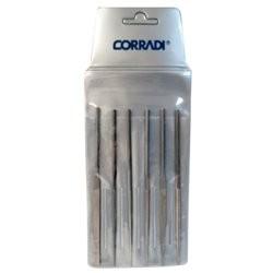Lima para Joyero Juego 6 Piezas 160 mm Corte 0 Corradi 185-0