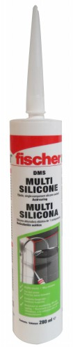 Silicon Uso General Transparente 280 ml 618607 Fischer