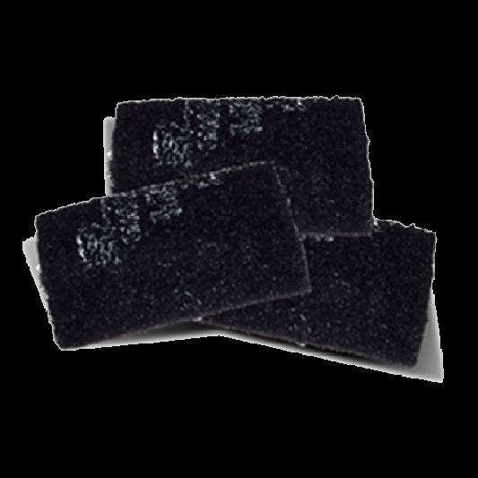 Fibra Almohadilla Negra 23 X 15 cm  P96 NEGRA 3M