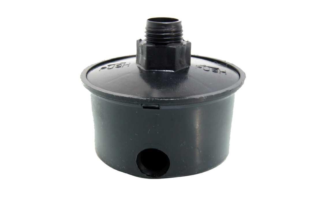 Filtro Plástico Con Conexión 1/4  Para Compresor 96017 Goni