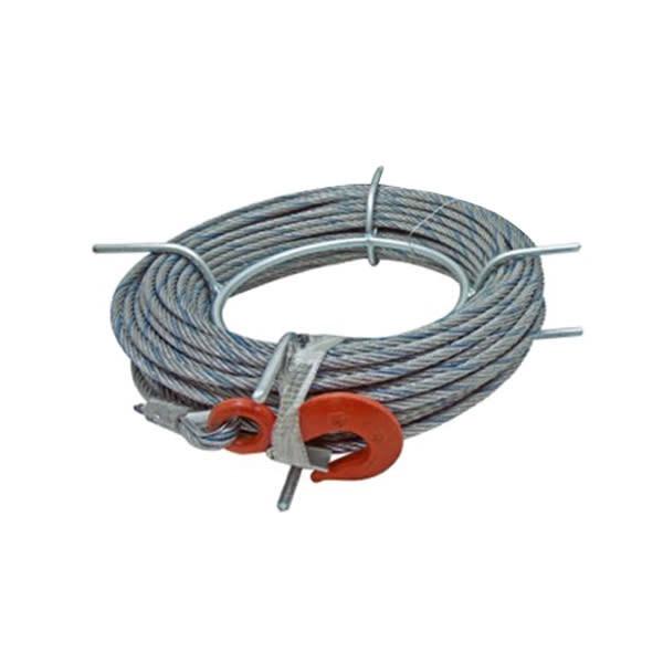 Cable De Repuesto Para Tirfor  A8ag 50 Metros 8,3 Mm Alba