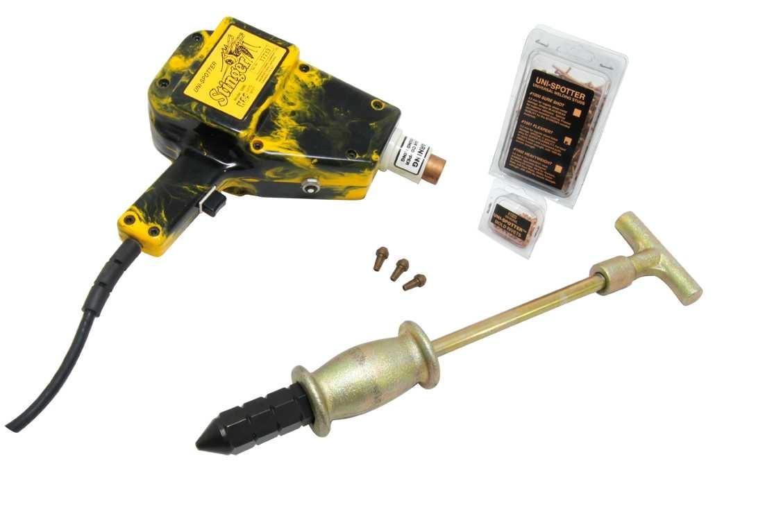 H&s 5050 Kit Spotter Boquillas Y Extractores De Pernos Goni