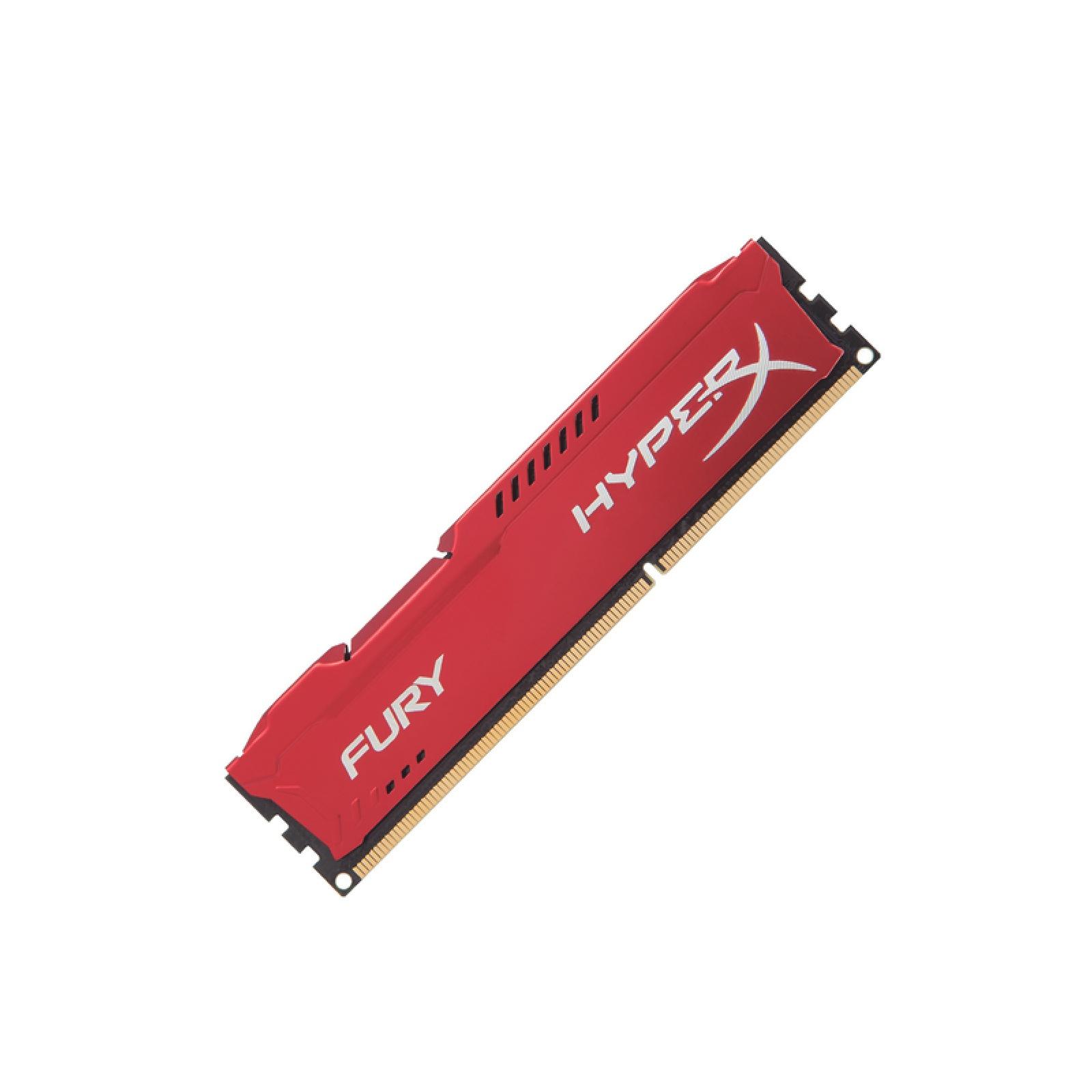 Ddr3 4GB 1600mhz   Hyperx Fury  Kingston