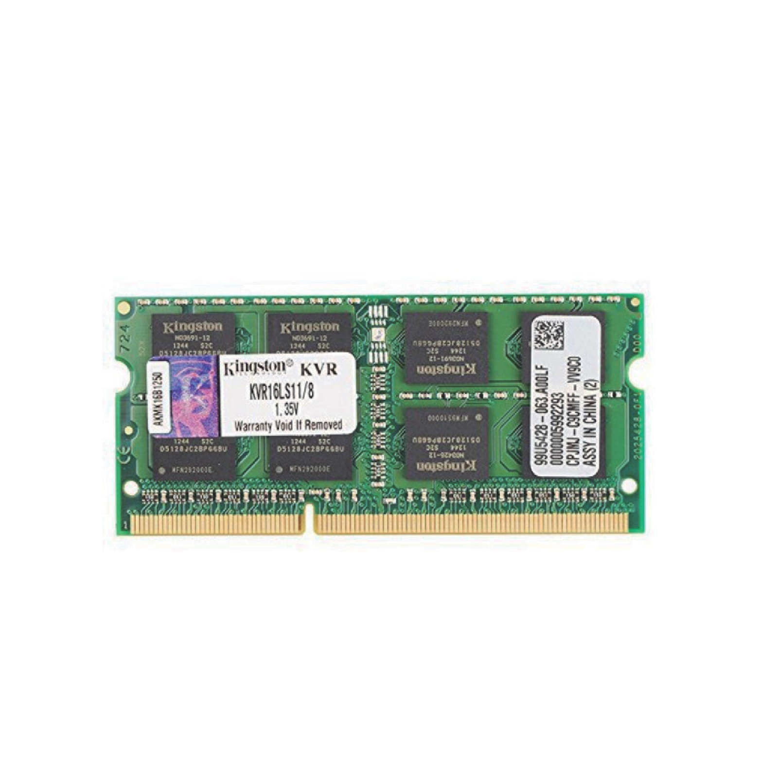 SODDR3 8GB 1600 Mhz Kingston