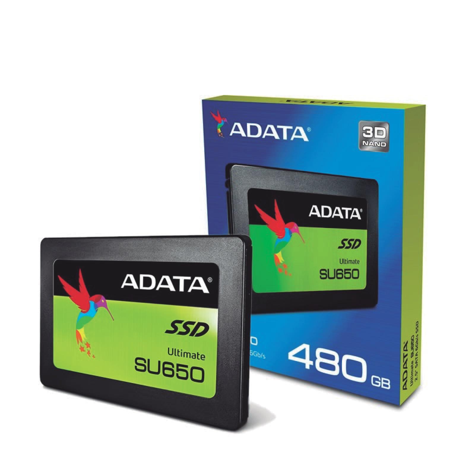 Unidad De Estado Sólido 480GB Su650 -Adata-