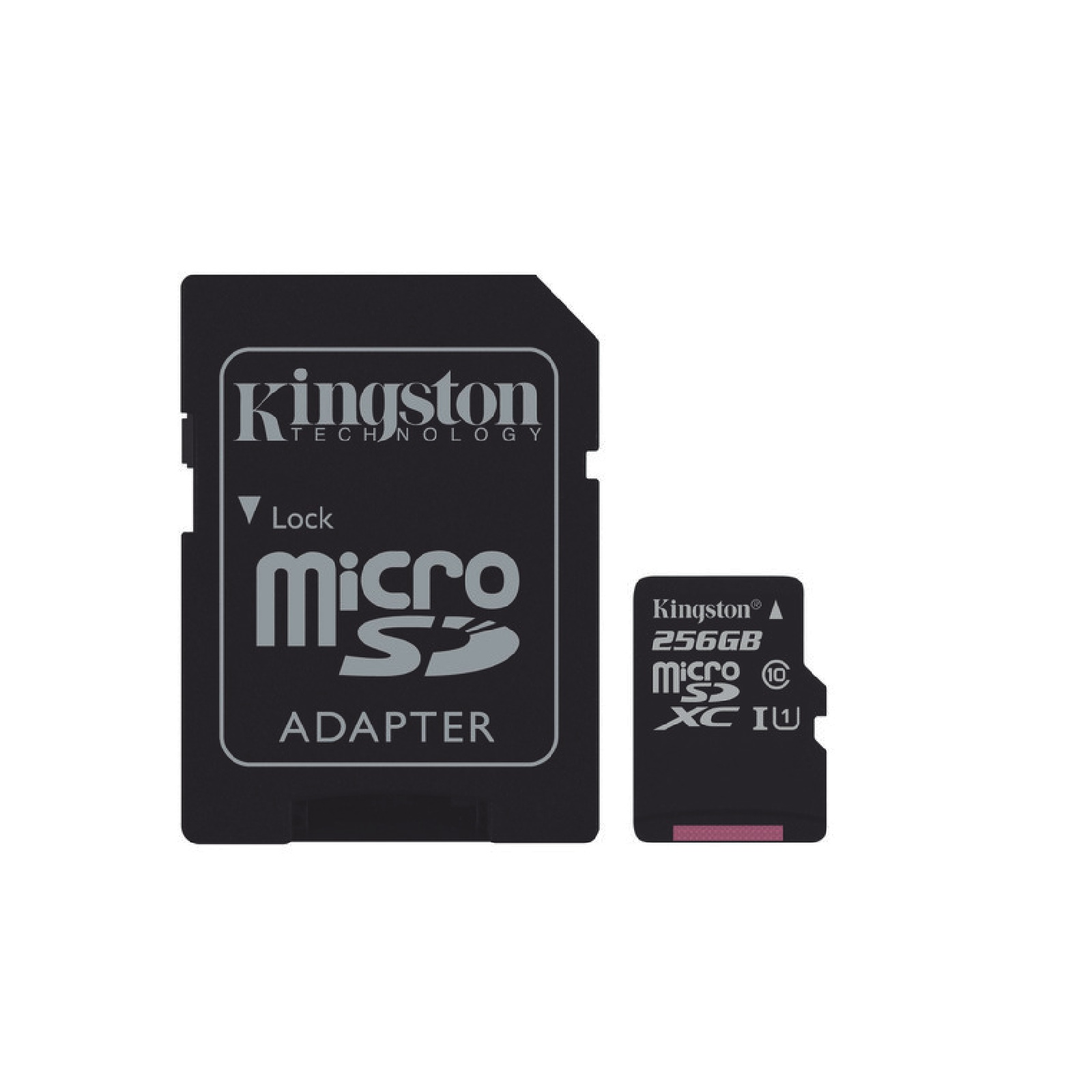 Micro SD  256GB Clase 10 Uhs-I 80Mb/s  -Kingston-