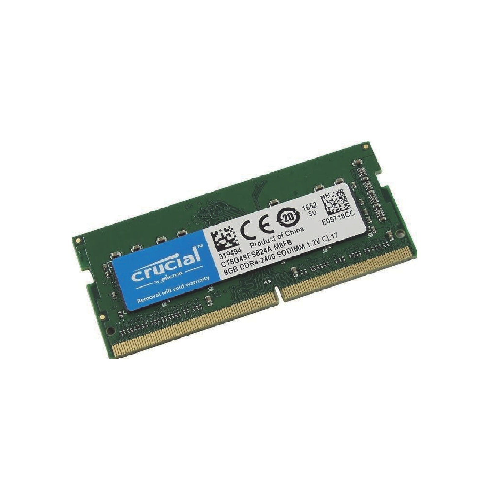 Soddr4 8GB  2400mhz Crucial