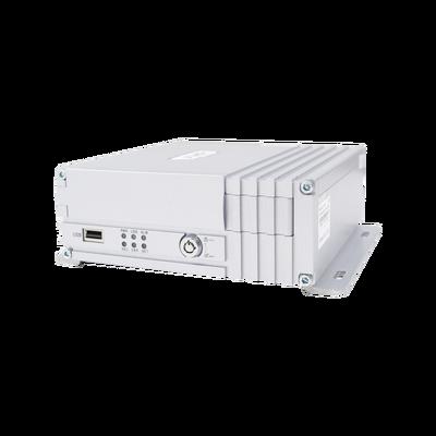 Vídeo Grabador Móvil 4 ch 2MP AHD 3G, GPS y WIFI