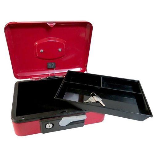 Caja De Seguridad Para Dinero C/palanca 25cm