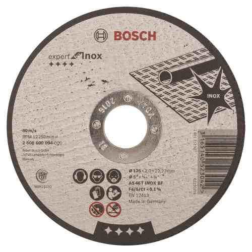 Disco Abrasivo Corte Expert Inox Cto Recto 5 X5/64  Bosch