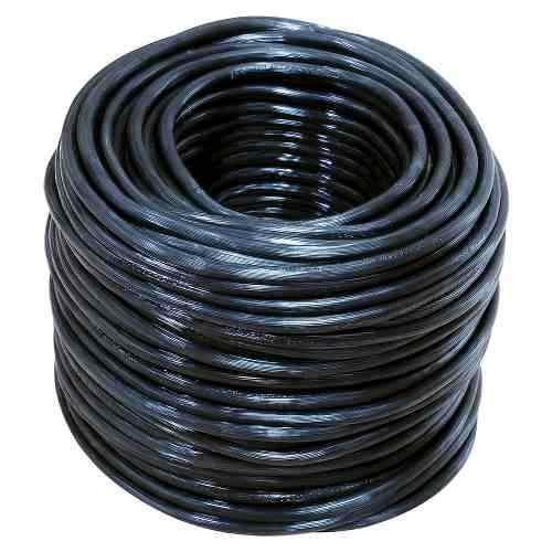 Cable Eléctrico Uso Rudo Cal.2x14 100m Blanco Y Negro 136937