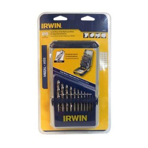 Juego De Brocas Para Metal 29 Piezas 1/16-1/2  1865305 Irwin