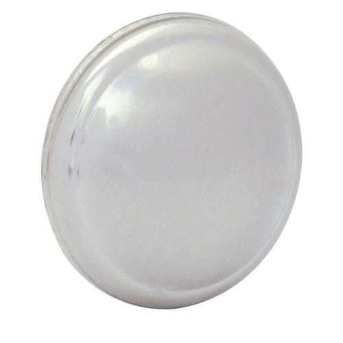 Botón O Perilla Clásico Tipo 02 Níquel A Rayas Lock