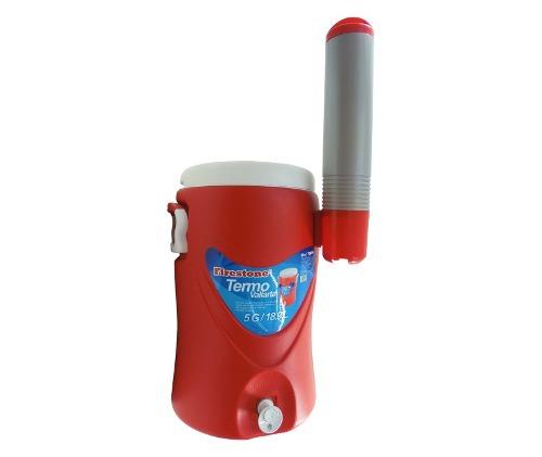 Termo 5 Gal. 18.9 Lts Agua Frio Caliente Con Porta Vasos.
