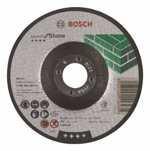 Disco Abrasivo Corte Exp Piedra Cto Deprimido 5 X1/8  Bosch