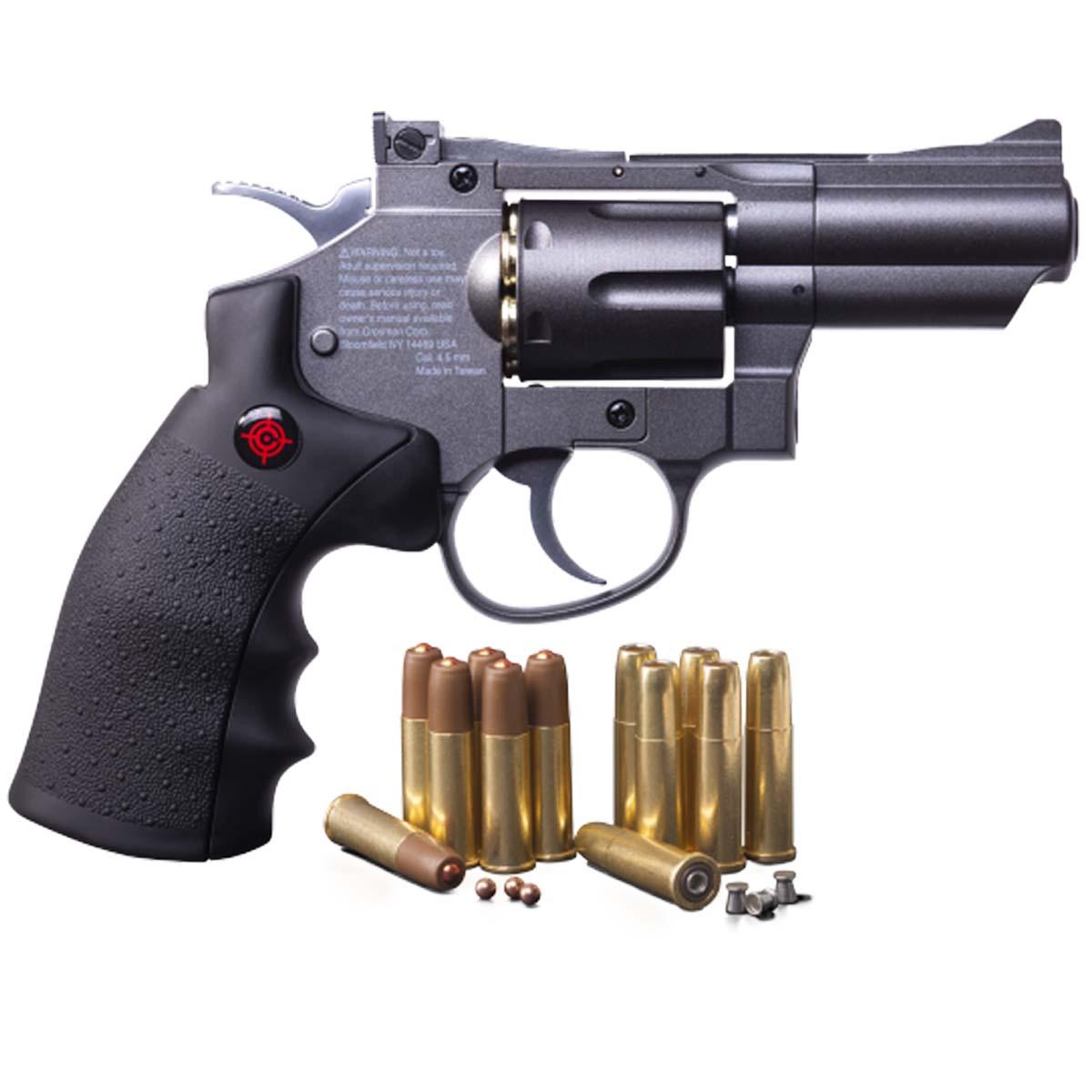 Pistola CO2 Cal 4.5 De Tiro Deportivo Balin Diabolo Crosman