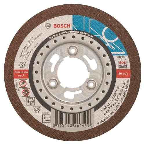 Disco Abrasivo Corte Metal Cto Recto 4 X3/64  Bosch