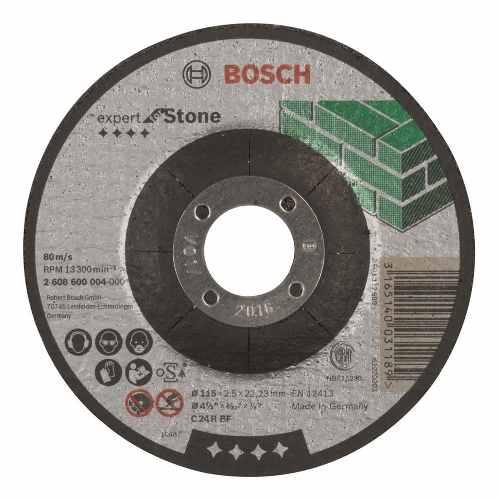 Disco Abrasivo Corte Expert Piedra Cto Dep 4-1/2 X1/8  Bosch