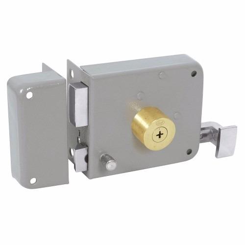 Cerradura De Sobreponer Llave Tetra Derecha En Caja Lock