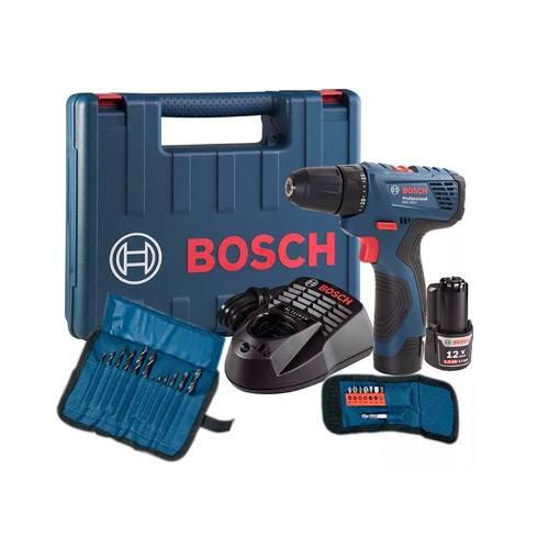 Taladro Atornillador Inalambrico Gsr 120-li+kit 21 Acc Bosch