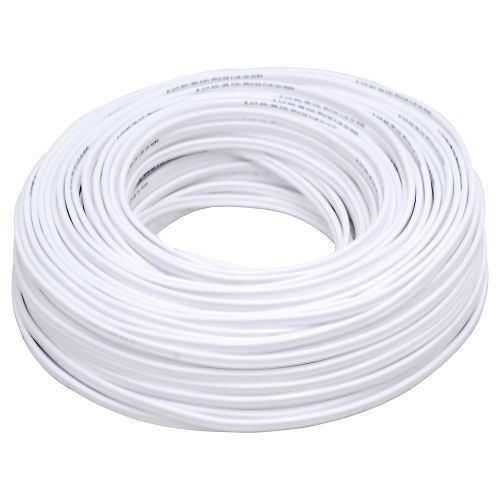Cable Eléctrico Tipo Pot Cal. 2 X 18 100mt Blanco 136929 Sur