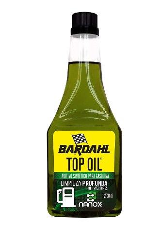 Aditivo Para Gasolina Top Oil Limpieza Profunda 300 Ml