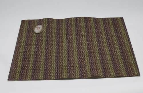 Mantel Individual Plastico Rallado Colores Sm-431367 Namaro