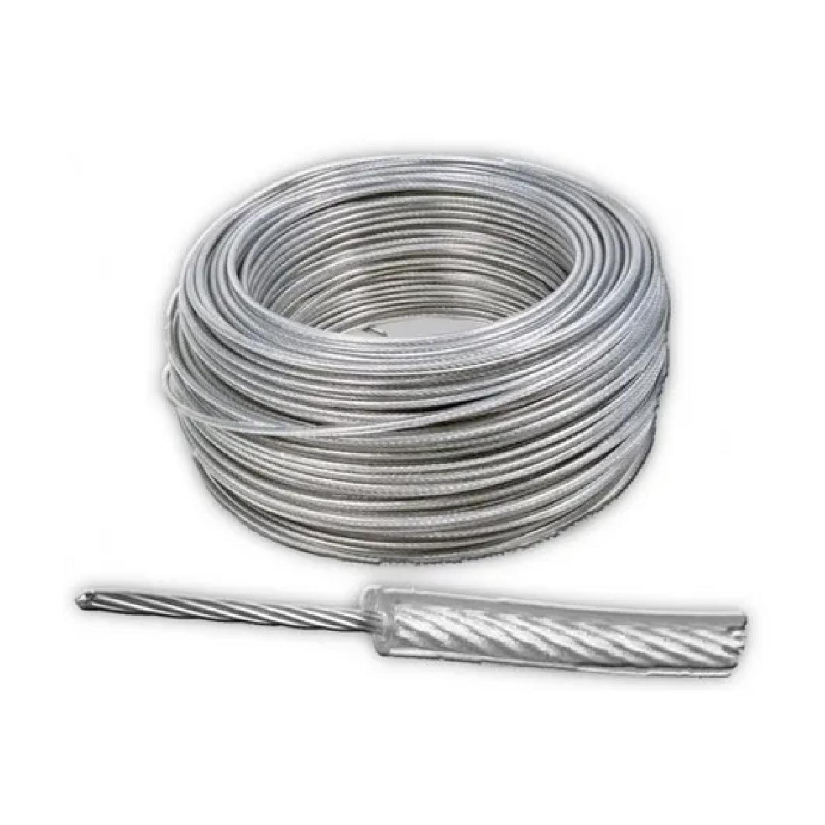 Cable De Acero Con Recubrimiento Pvc 7x7 1/16-3/32 Y 300 M