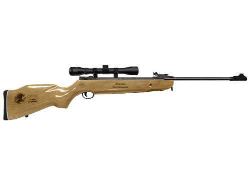 Rifle Centenario Barniz Calibre 5.5 Mira 4x32 Mendoza