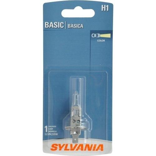 Foco Frontal Basic Sylvania H1 Halogeno De 1 Pieza