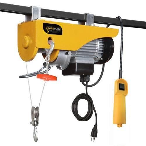 Polipasto Electrico Cable 20m Carga 400 A 800 Kilos 110v