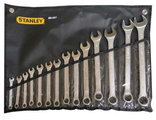 Llave Combinada Juego 14 Piezas 7-24 Mm Indus 86081 Stanley