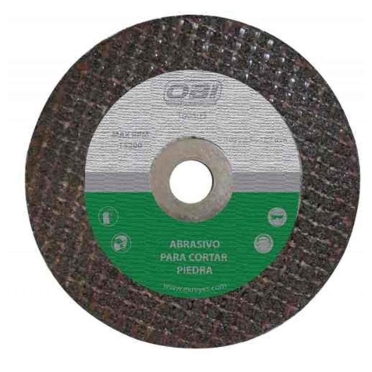 Abrasivo Piedra 105 Y 3,2 Y 12,7 Mm Corte Obi