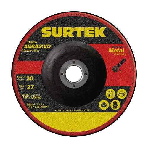 Disco T/27 Metal 7x1/8  123326 Surtek