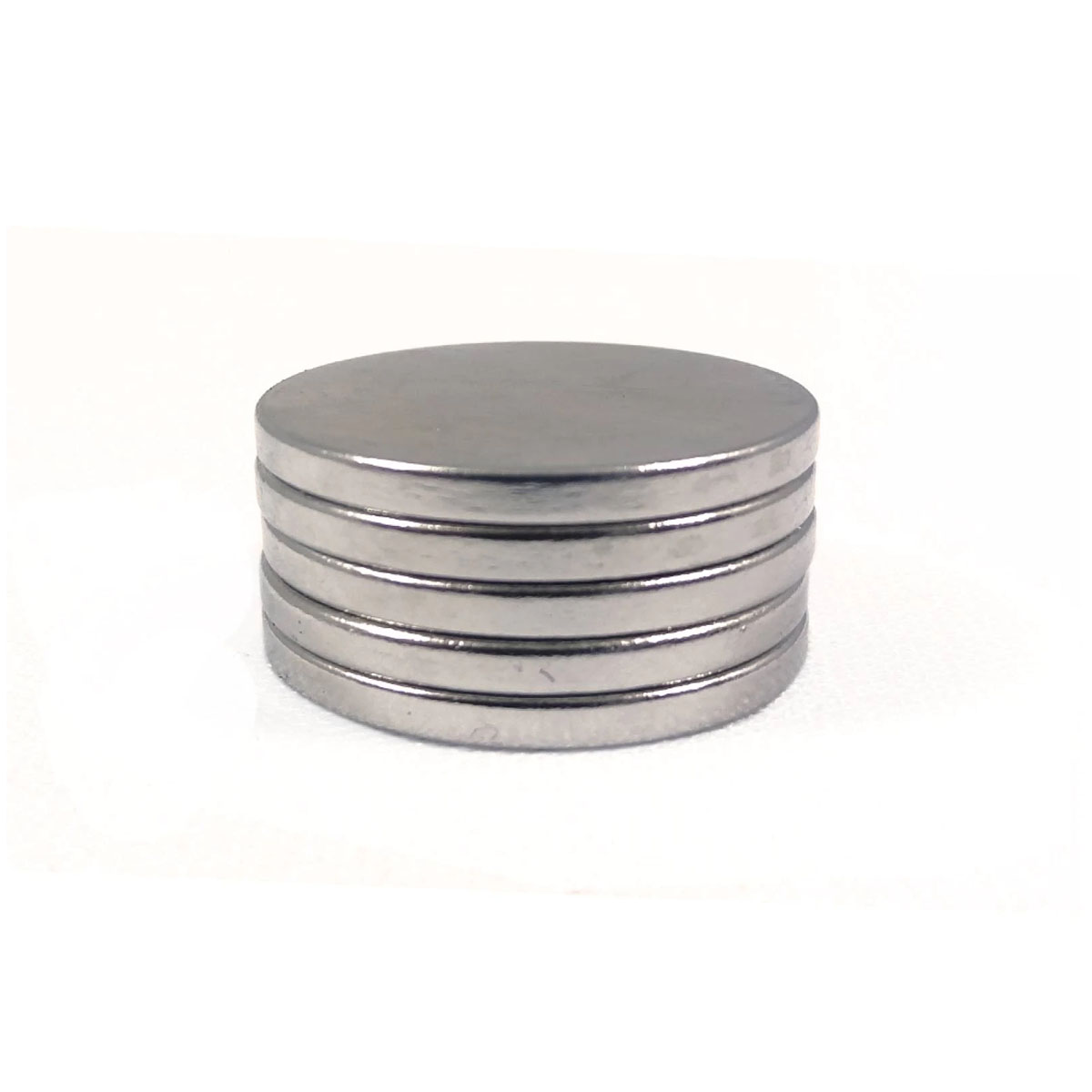 Iman Redondo Neodimio 10 X 1,8 Mm Paquete Con 5 Piezas Obi