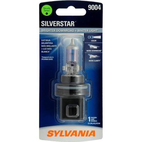 Foco Frontal Sylvania 9004 Silverstar Halogeno Luz Blanca 1p