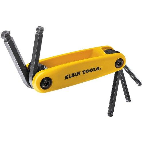 Juego 5 Llaves Hex Bola Grip-it Pulgadas 70571 Klein Tools