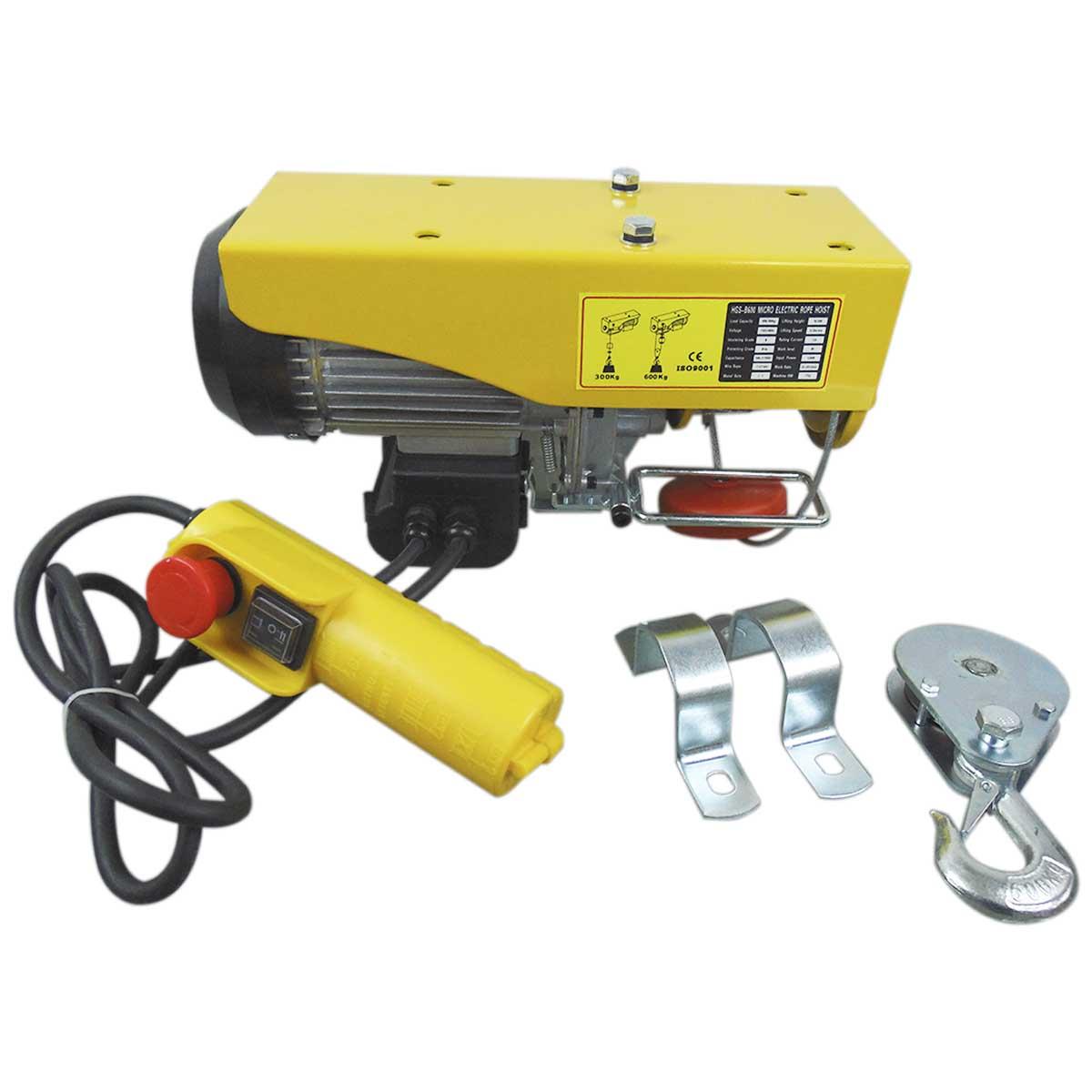 Polipasto Electrico 300-600kg 20 Metros 274447 OBI