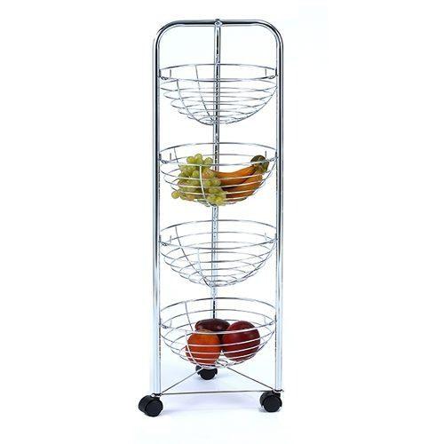 Carrito Metalico 4 Canastillas Para Frutas Namaro Design