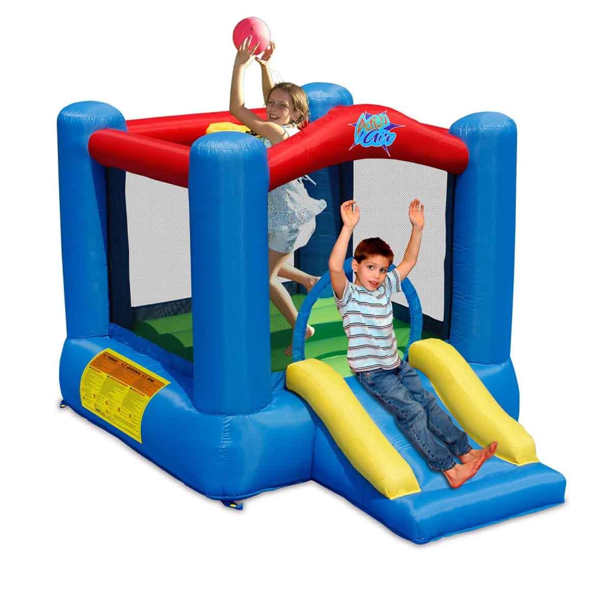 Castillo Brincolin Inflable De Fiestas Para Niños Game Power