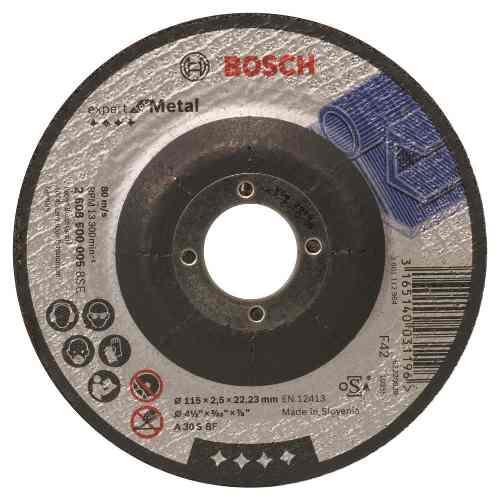 Disco Abrasivo Corte  Cto Dep 4-1/2 X3/32  Bosch