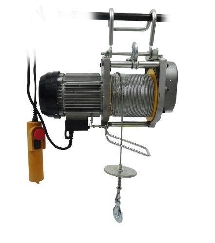Polipasto Malacate Electrico De 250kg Cable 60 Metros 220v