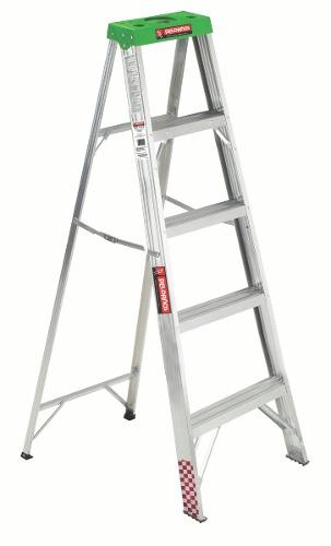 Escalera Tijera Aluminio 4 Peldaños Tipo Iii 706718 Peldaños