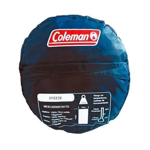 Bolsa De Dormir 187 Cm Y 72 Cm Sin Gorro Breeze 175 Coleman