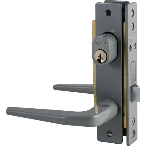 Cerradura Aluminio Basic Sencilla Color Gris 14cl Lock